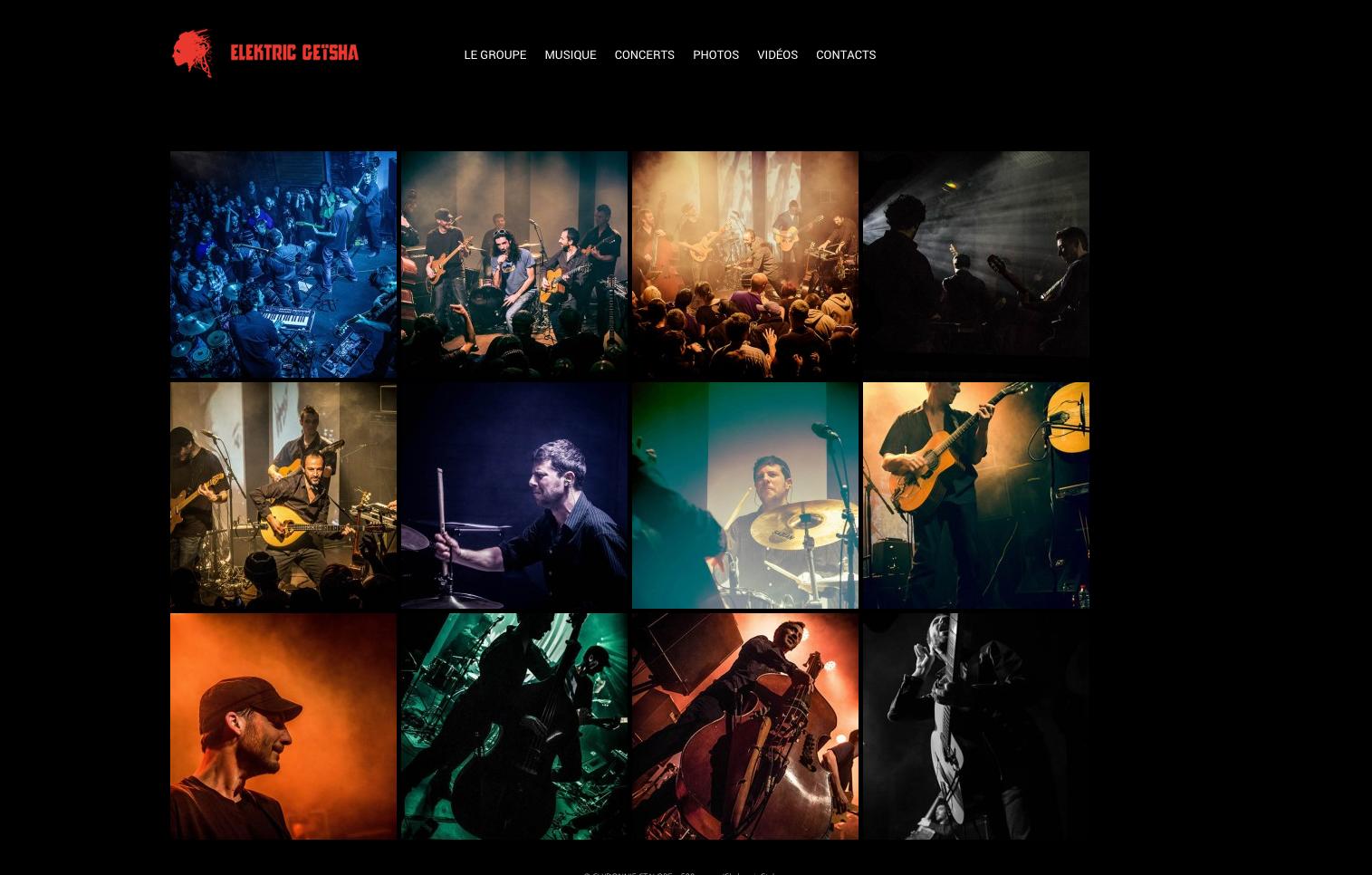Elektric Geïsha —Website Screen — Photos - Clydonnie Ctalope