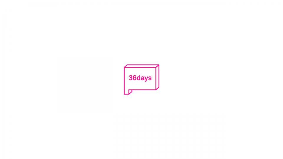 36 Days Of Type — Background